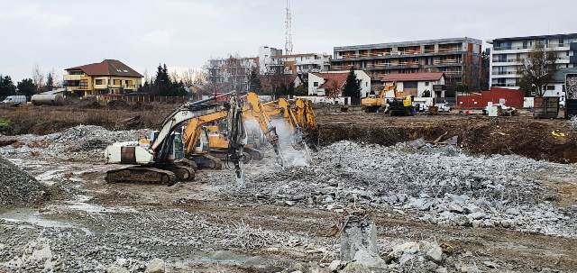 demolare imobile str Jandarmeriei