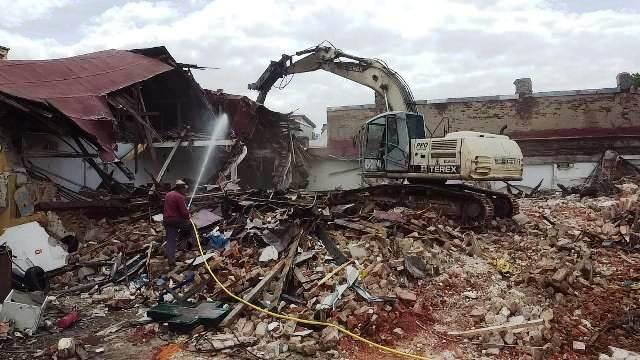 demolare fabrica Timpuri Noi Bucuresti